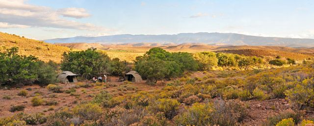Glamping in the little Karoo
