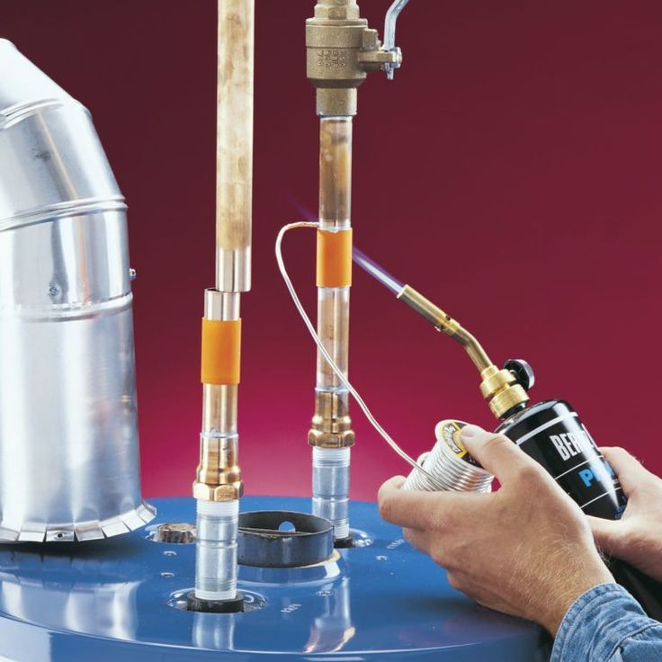 Diy water heater installation in 2020 with images