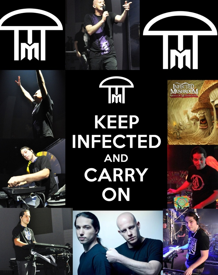 Background that I made. Infected Mushroom
