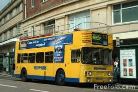 Image result for vintage bournemouth buses