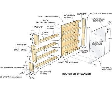 DIY Woodworking Ideas PDF Woodworking Plans Mail Organizer Wooden Plans How to and DIY ...