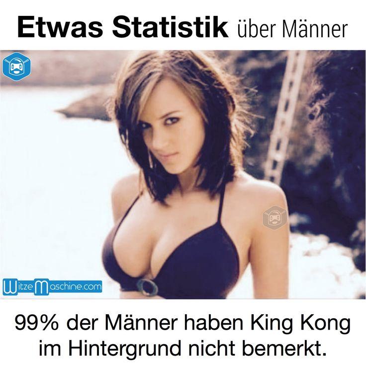 Statistik über Männer - Sexy King Kong