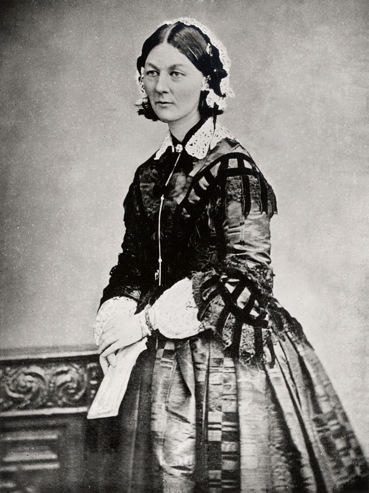Florence Nightingale three quarter length - Crimean War - Wikipedia, the free…