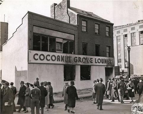 report on cocoanut grove nightclub fire 75 years later, cocoanut grove fire still haunts  cleo webster rarely spoke of the cocoanut grove fire,  on the night of the fire,.