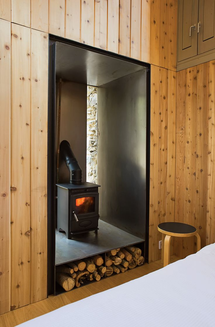 A Couple Restores a Seemingly Hopeless Mill in France. Modern Wood Burning  StovesWood ... - 19 Best Images About Wood Burning Stoves On Pinterest