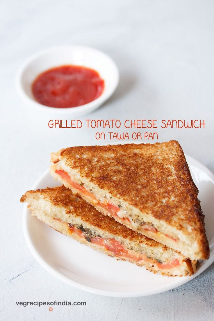 tomato cheese sandwich recipe with stepwise pics. quick & easy grilled sandwich made with tomatoes and cheddar cheese. takes 15 to 20 minutes