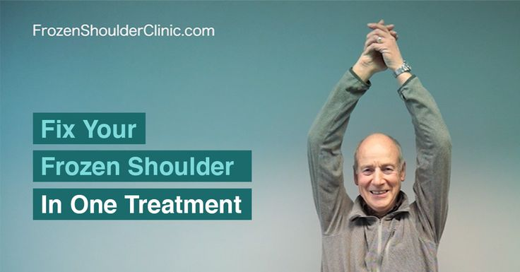 Cure Your Frozen Shoulder In One Visit Trigenics Oat
