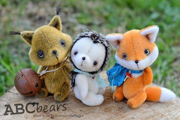 ABCbears: Лесные Друзья
