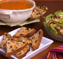 Garlic Raisin Bread Croutons