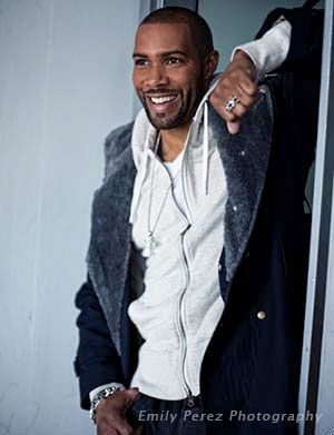 Omari Hardwick with yo fine self and that beautiful smile