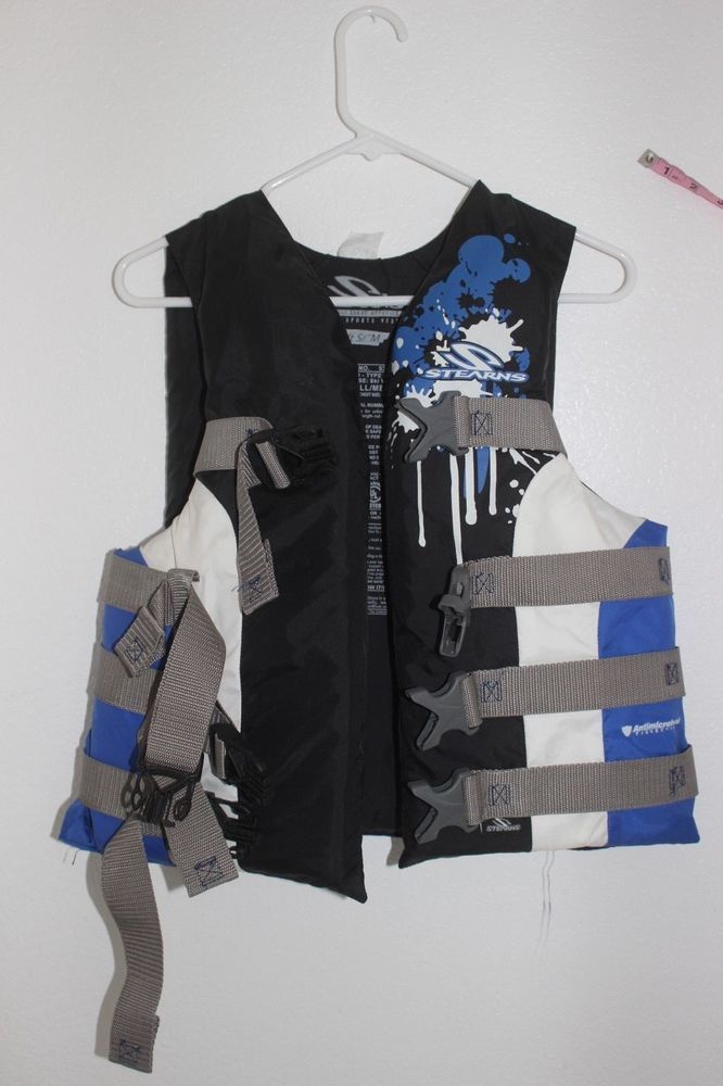 Stearns water sports vest life jacket 5348 Adult universal Small Medium #Stearns