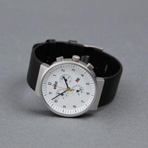 Braun(ブラウン)腕時計 BN0035 クロノグラフ ホワイト/ブラック - おしゃれな腕時計ならワールドウォッチショップ
