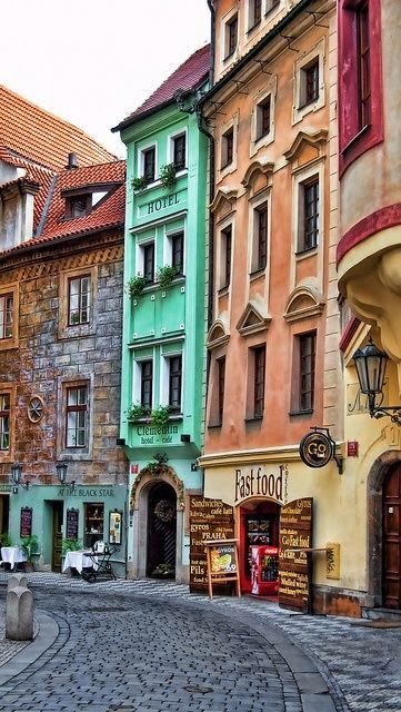 New Wonderful Photos: Streets of Prague