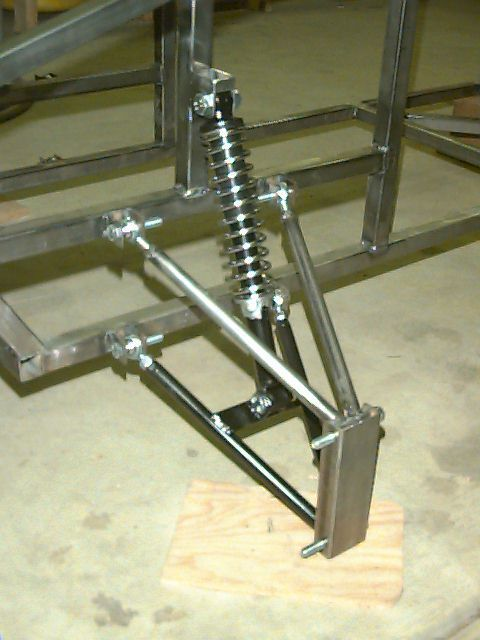 long arm suspension go kart - Google Search
