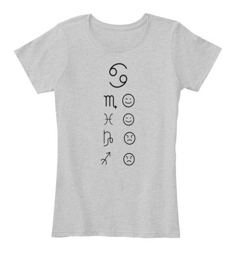 69 M Light Heather Grey T-Shirt Front