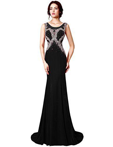 37 best black evening gowns images on Pinterest | Black evening ...