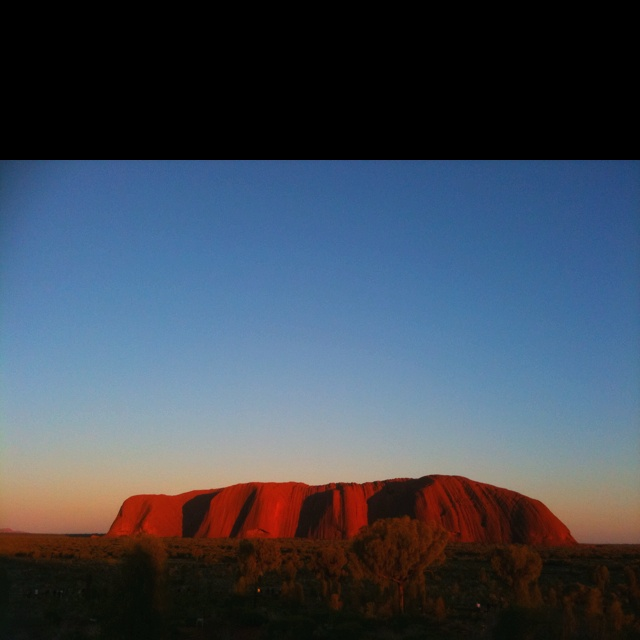 Ayres Rock, truly magnificent !