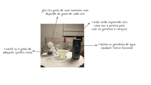 Por Erika de Castro Neves: Health Food Tip: Virgin Gin Tônica!