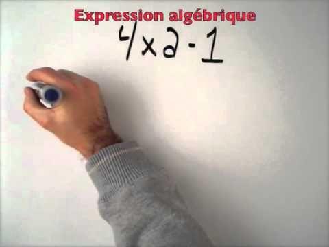 Introduction algèbre première secondaire
