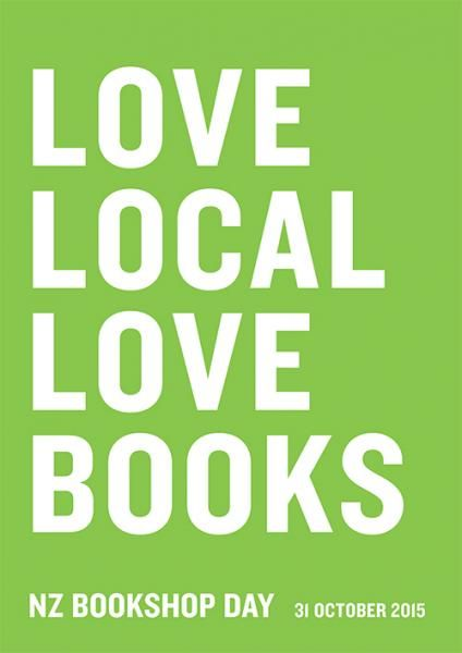 All of our bookshops are all about the community they are in. This poster celebrates it.