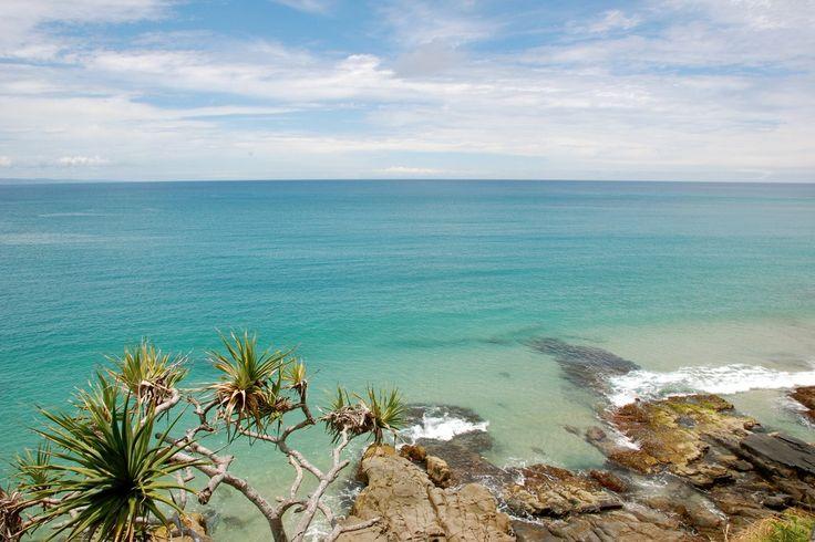 Coolum beach on the Sunshine Coast Qld.