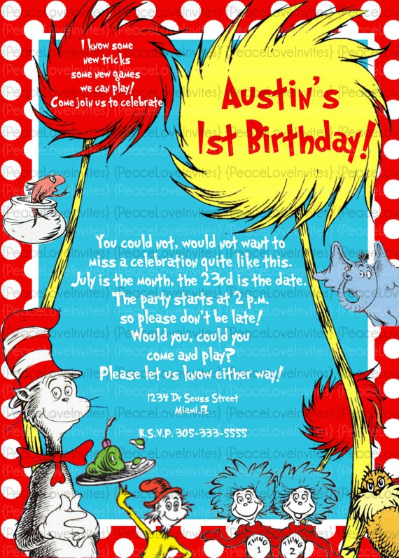 50 best ideas about dr  seuss party ideas on pinterest