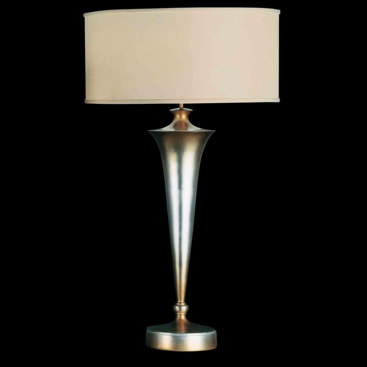 Fine Art Lamps 115510 Cosmopolitan Silver Table Lamp On Sale Now.  Guaranteed Low Prices In