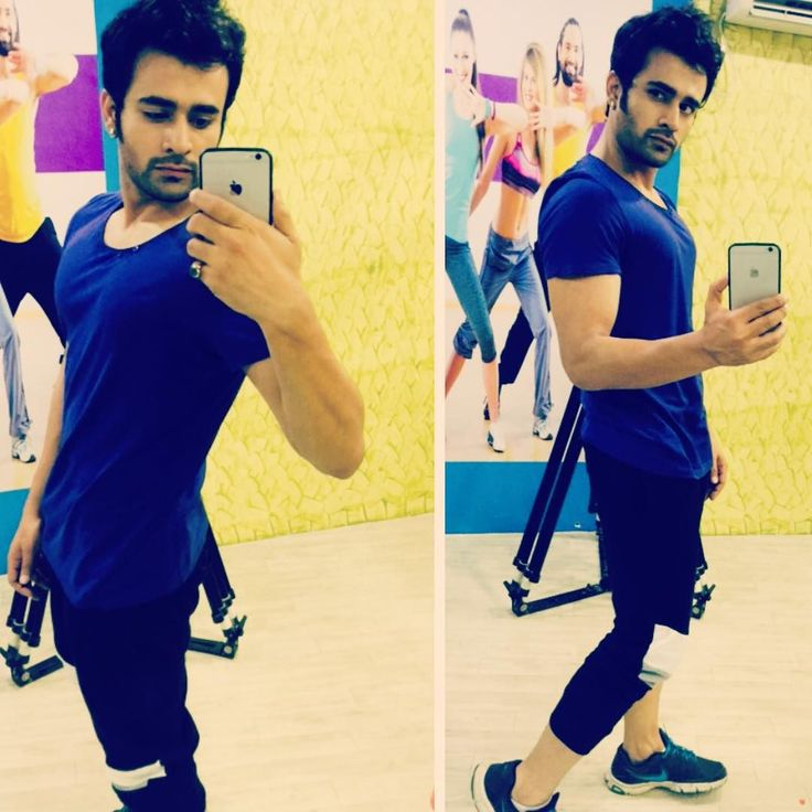 "pearlvpuri: ""There's one gym sequence coming up in bd @starplus @hotstar #badtameezdil #workout #abeergiri"""