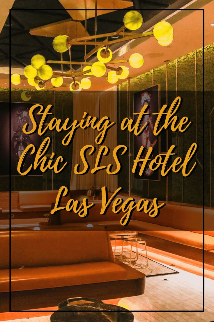 Planning a trip to Las Vegas? Before you throw your money at large casinos giving you a less intimate experience, book your next stay at SLS. The best boutique resort on the Strip. Read my hotel review of the SLS Las Vegas and learn why it's the best value for your money.