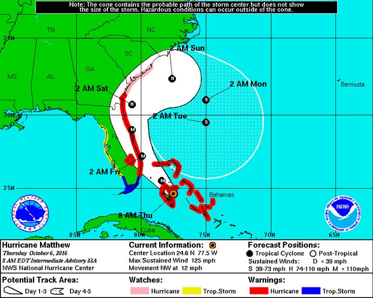 As Hurricane Matthew approaches the East Coast, Florida, South Carolina and North Carolina have issued emergency declarations suspending several federal regulations on truckers operating in the sta…