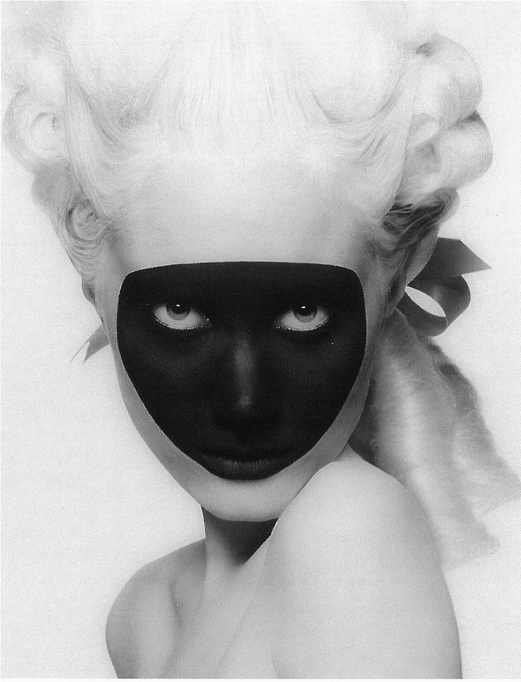 Masquerade. Photographed by Inez and Vinoodh.