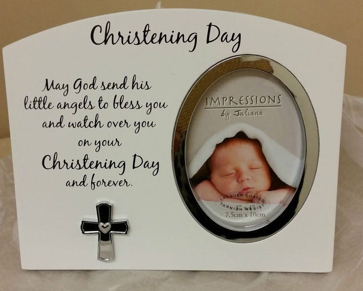 23 best personalised baby gifts images on pinterest babies nursery baby christening baptism nameing gift baby shower picture frame white blessing negle Images