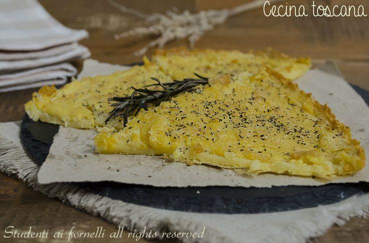 Cecina toscana http://blog.giallozafferano.it/studentiaifornelli/cecina-toscana-ricetta-tradizionale/