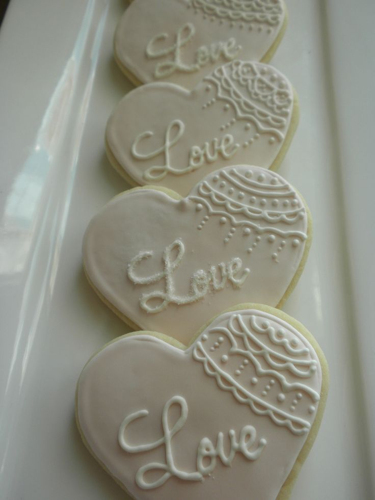 1000+ ideas about Wedding Cookies on Pinterest | Cookies ...