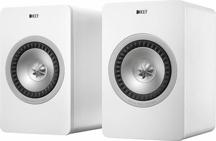 KEF X300A Wireless (la paire) Enceinte sans fil Hi-Fi - Enceintes Hi-Fi/Enceintes bibliothèques sans fil - CinAudio