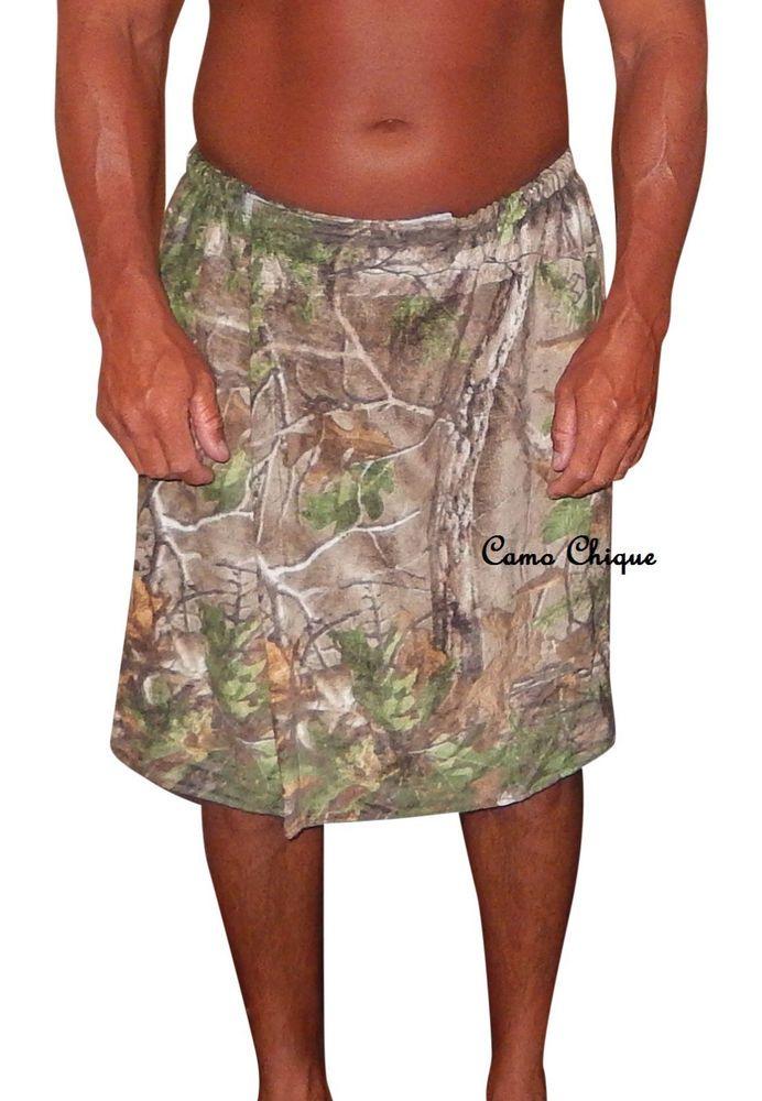details about realtree bath wrap camo spa towel wrap choose men or women jrs redneck spa robe