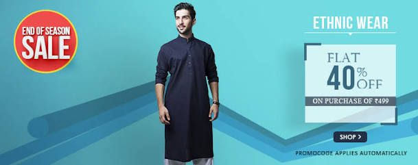 ethnic wear banner ad amazon - Google Search