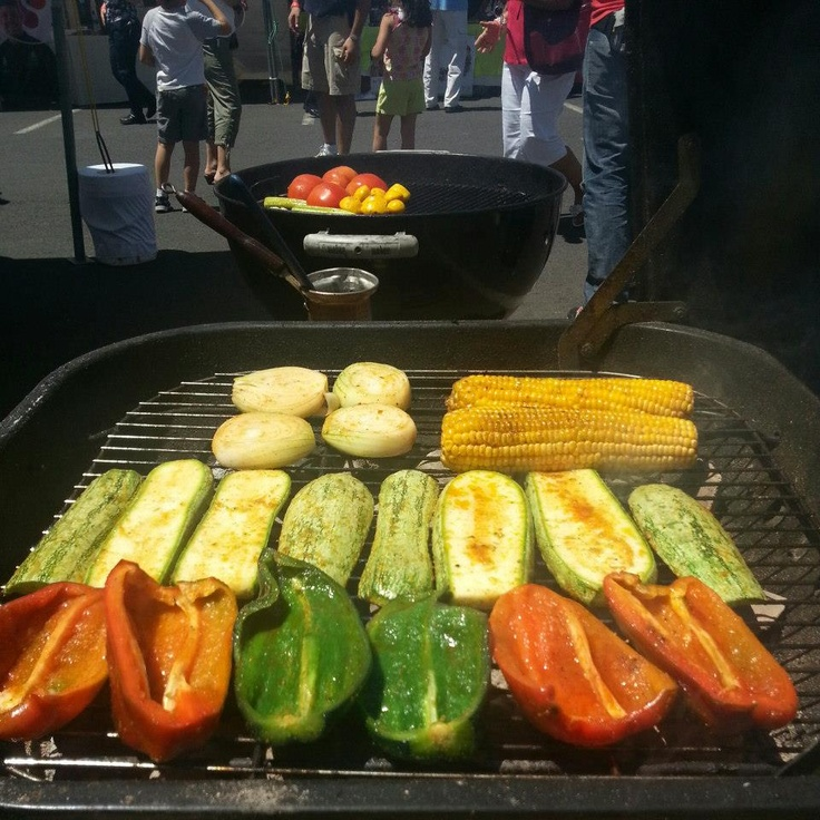 84 best buena comida images on pinterest chefs live and - Verduras a la parrilla ...