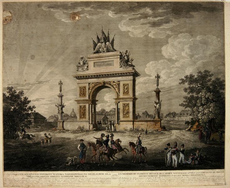 Remembrance of the glorious return of the National woyska (1809) - http://www.europeana.eu/portal/record/92033/06E50D949015082682F87FCBE42F8FC92A7F09E1.html