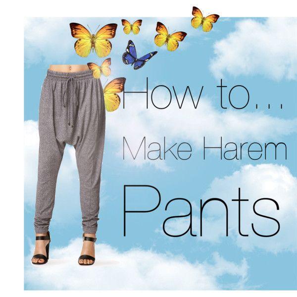 DIY harem pants