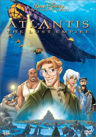 Atlantis - The Lost Empire - I'd forgotten about this because we never had it on video. Oh my gosh this was brilliant to come back to!