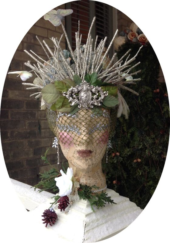 The Dusty Victorian: Christmas Headdress 2014 - The ...