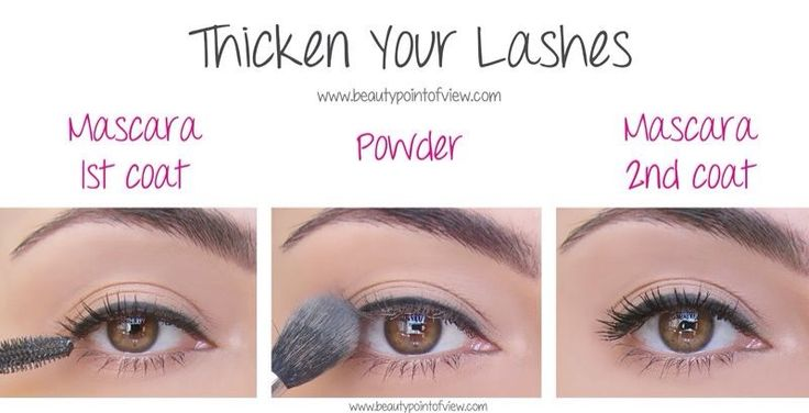 baby powder thick lashes