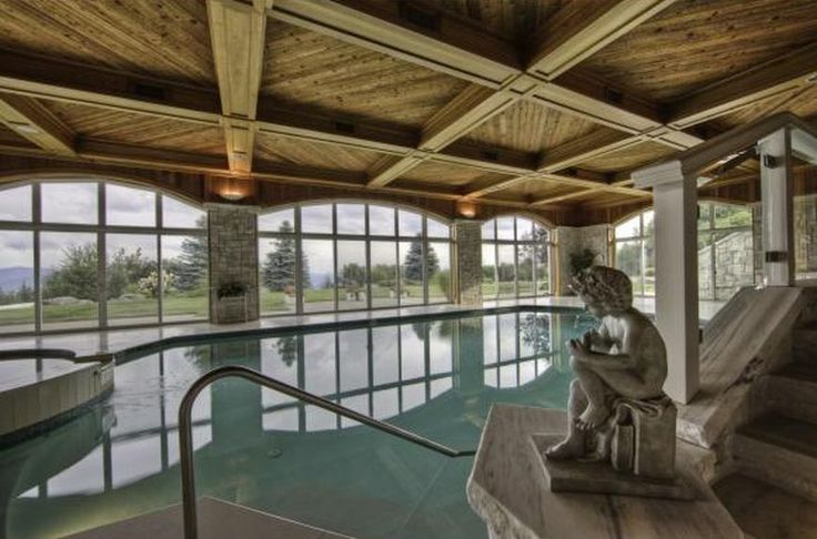 Enjoy This Indoor Pool Above The Clouds In Stowe, VT Courtesy Of Our Luxury  Portfolio International Member Pall Spera Company Realtors LLC