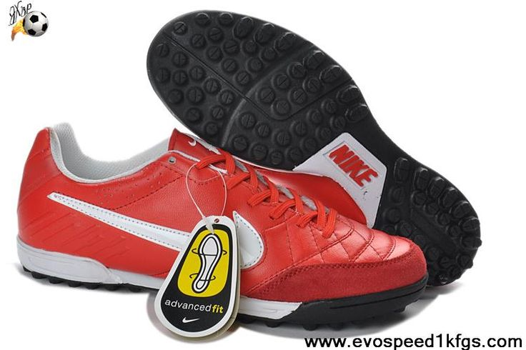 Cheap Sunburst White Crimson Nike Tiempo Legend IV TF Soccer Boots For Sale