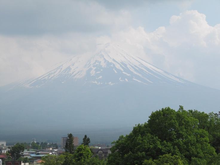Mount Fuji (Fujisan) is with 3776 meters Japan's highest mountain.
