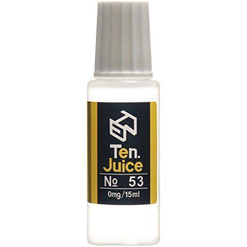 電子タバコリキッド 国産 Ten.eJuice NO.53 レモネード風味 15ml Ten.Project VAPEリキッド Ten.Project http://www.amazon.co.jp/dp/B00SQZ1D9I #電子タバコリキッド #電子タバコ #vapeリキッド #vape #ejuice #eliquid