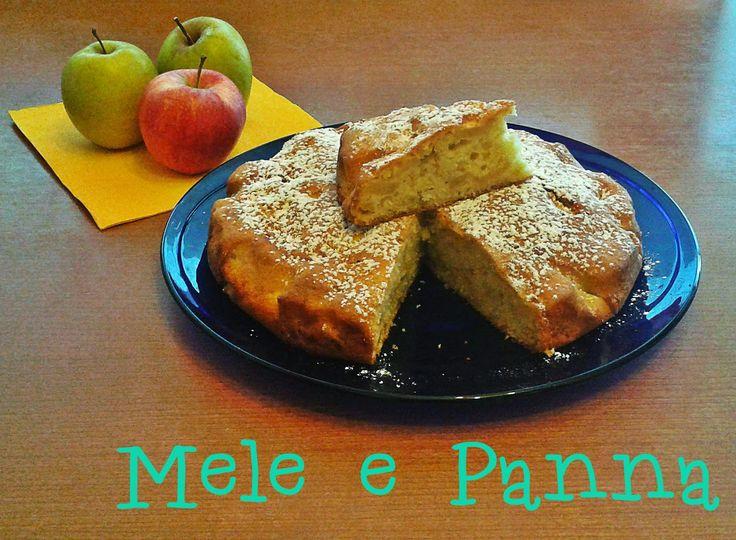 Fornelli&Capricci: Torta di mele e panna
