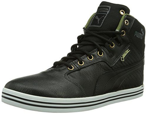 Puma Tatau Mid L GTX, Herren Hohe Sneakers, Schwarz (black-burnt olive-dark shadow-bronze-white 04), 43 EU (9 Herren UK) - http://uhr.haus/puma-6/43-eu-puma-tatau-mid-l-gtx-herren-hohe-sneakers-red-5-4