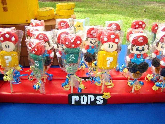 147 best Super Mario Bros Party Ideas images on Pinterest